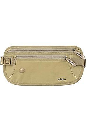 Homfu Reise-Geldgürtel, Reisepasshülle, sicher versteckt, mit RFID-Block, für Männer und Frauen, Sport, Wandern, Reise-Geldbörse, um Ihre Bargeld, Kreditkarte, Pass