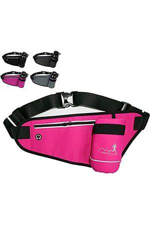 AIKAITUO Fashion Sports Bauchtasche, tragbar, mit Wasserflaschenhalter, wasserdicht, für Damen und Herren, Laufen, Sport