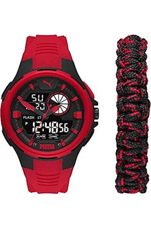 PUMA Herren Bold Analog-Digital Three-Hand, Polycarbonate Uhr