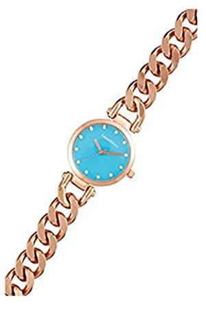 Louis Villiers Unisex Analog Quarz Uhr mit Edelstahl Armband AL2927-08