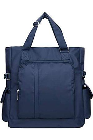VOLGANIK ROCK Canvas Tote Bag Wasserdichte Nylon Multi Pocket Schultertaschen Laptop Arbeitstasche Lehrer Geldbörse und Handtaschen für Damen & Herren