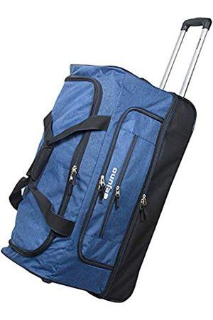 "Dejuno Unisex-Erwachsene 28"" Lightweight Denim Drop Bottom Rolling Duffel Bag-Blue Seesack"