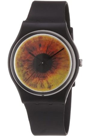 Swatch Damen-Armbanduhr Brownscape GZ237