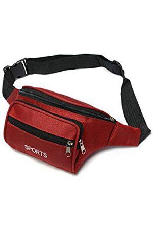 T-shin Große Bauchtasche, Bauchtasche für Männer und Frauen, Geldgürtel, Trainingsgürtel, Reisepass