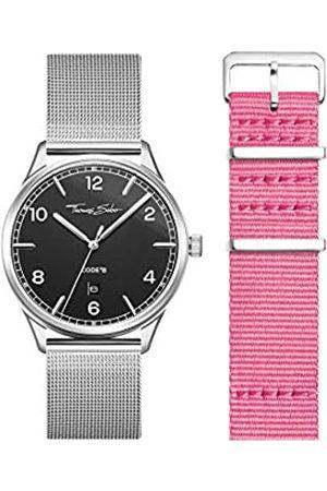 Thomas Sabo Unisex Code TS Uhr und Armband Edelstahl Milanaisearmband LOOK19_02_008