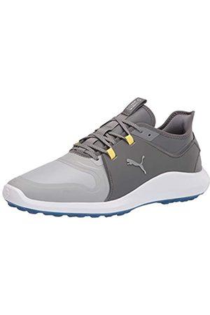 PUMA Men's Ignite Fasten8 Pro Golf Shoe, High Rise Silver-Quiet Shade