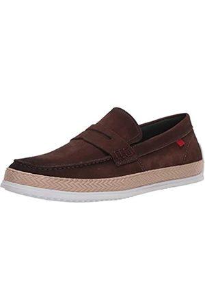 Marc Joseph New York Herren Leder-Schuhe mit Penny-Seil Detail Boot, ( /Nubukleder)