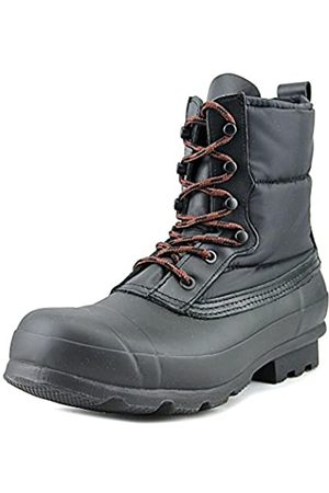 Hunter Boots Quilted Lace Up Snow Boots Black (11)