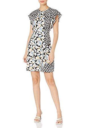 REBECCA TAYLOR Damen Freizeitkleider - Damen Sleeveless Fleur Mix Dress Kleid