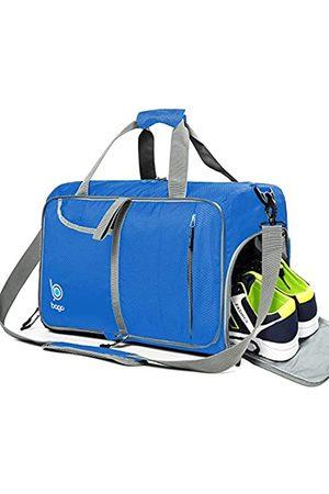 Bago Turnbeutel für Damen und Herren - Klein verstaubare Sporttasche für Damen mit Schuhfach und Nassfach (40 Liter)
