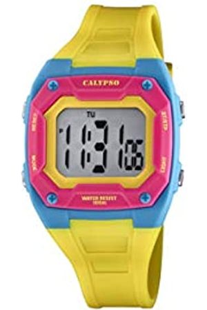 Calypso Unisex Digital Quarz Uhr mit Plastik Armband K5813/2