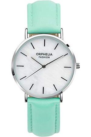 ORPHELIA Fashion Damen Analog Quartz Uhr Perla mit Leder Armband