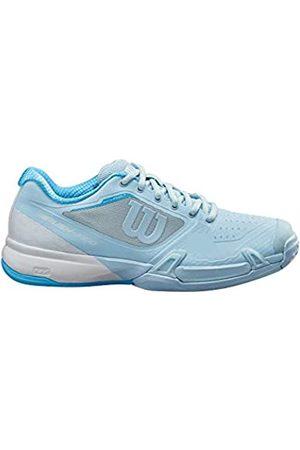 Wilson Damen Rush Pro 2.5 2019 Cc W Schuhe, Omphalodes/White/Alaskan Blue