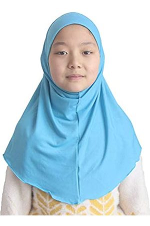Modest Beauty Hijab Muslimischer Kinderschal für Mädchen, 7–12 Jahre, einfarbig