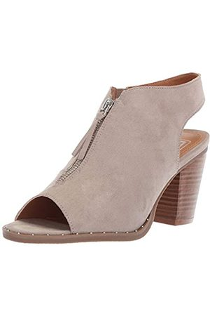 LFL by Lust for Life Damen LL-Zen Stiefelette, Braungrau-Taupe Suede