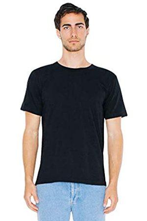 American Apparel Unisex-Erwachsene Fine Jersey Crewneck Short Sleeve, 2-Pack T-Shirt