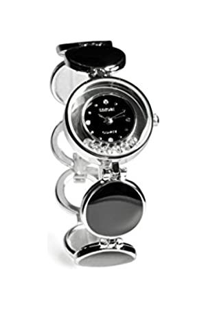 Sinobi Damen-Armbanduhr XS Analog Quarz Edelstahl beschichtet 9236/N