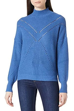 Springfield Damen Jersey Estructura Calados Polo-Pullover