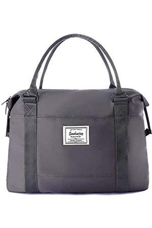 Sunshinejing Unisex große Reisetasche Schultertasche Wochenender Übernachtung Handtasche Gym Tote Bag mit Trolley-Tasche