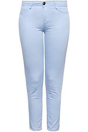Way Of Glory Damen Cropped - Damen Damen Jeans | 5 Pocket | Verkürzte Beinlänge
