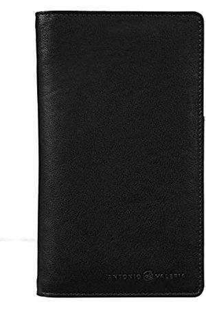 ANTONIO VALERIA Reisetaschen - James Reisepasshülle aus Leder, RFID-blockierend, schmal