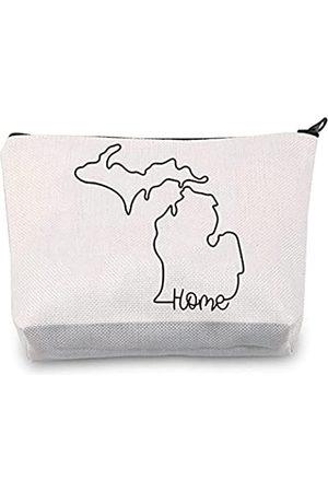 JXGZSO Great Lakes Tasche Home Make-up Organizer Tasche Love Geschenk
