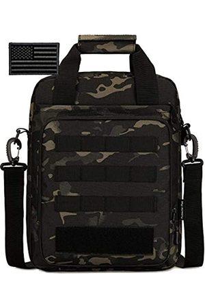 Protector Plus Taktische Messenger-Tasche für Herren, Militär, MOLLE-Tragetasche, Schultertasche, Werkzeugkoffer, Sturmausrüstung, Handtaschen, Tasche für Outdoor, Utility-Tragetasche (Patch enthalten)