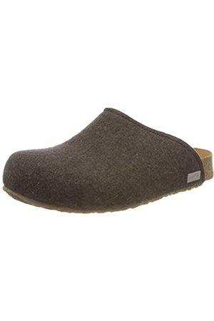 Haflinger Unisex-Erwachsene Gio Bio Pantoffeln, (Braunmeliert 63)