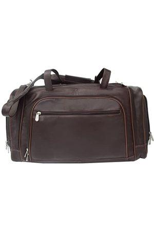 Piel Piel Leder mehrere Duffel Bag Braun Einheitsgröße