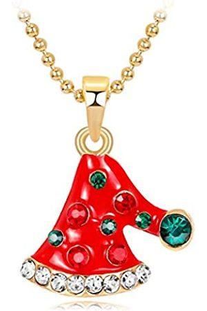 Windy5 Halskette, Anhänger für Damen, Weihnachtsmann, Schneemann, Bell, Weihnachtsbaum, Mädchen