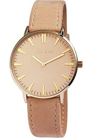 Just Watches Herren Analog Quarz Uhr mit Leder Armband JW20004-012