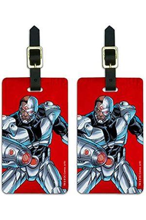 Graphics and More Justice League Cyborg Gepäckanhänger mit Aufschrift Cyborg