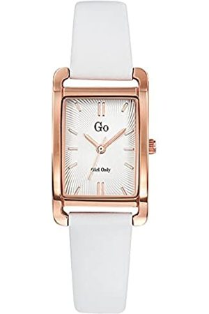 GO Girl Only Damen Analog Quarz Uhr mit Leder Armband 699116