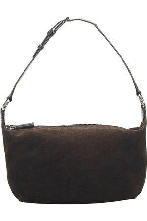 Céline Damen Geldbörsen & Etuis - Pre-owned C Macadam Shoulder Bag Leather Suede , Damen, Größe: One size