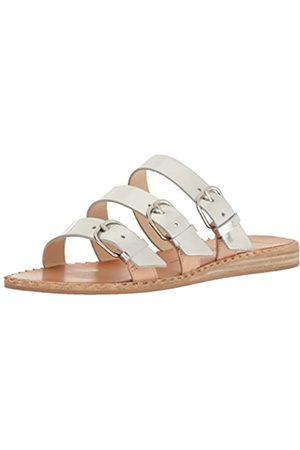 Dolce Vita Women's para Slide Sandal, Silver Leather