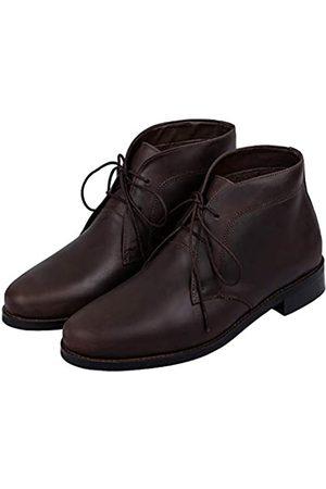 Lethato Herren Modern Klassisch Kalbsleder Chukka Boots