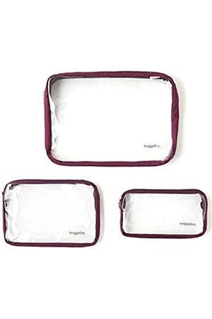 Baggallini Unisex-Erwachsene (nur Gepäck), transparente Reisetaschen