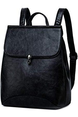 WINK KANGAROO Modische Schultertasche Rucksack PU Leder Damen Mädchen Damen Rucksack Reisetasche - - Medium