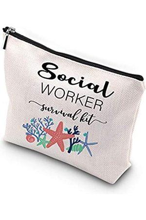 Generic WCGXKO Sozialarbeiter Geschenk Sozialarbeiter Abschluss Geschenk für Frauen Sozialarbeiter Survival Kit Tragbare Aufbewahrungstasche