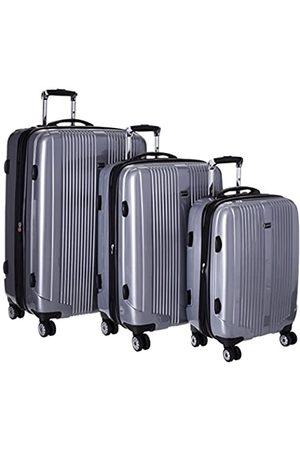 J WORLD NEW YORK Concord Hardside 3 Piece Spinner Luggage Set