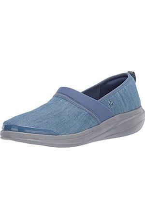Bzees Damen Coco Slip-On Sneaker, Blau (Waschbarer Denim-Stoff)