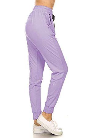 Leggings Depot Damen-Leggings mit, einfarbig, mit Print, Activewear, Jogginghose, Sweatpants