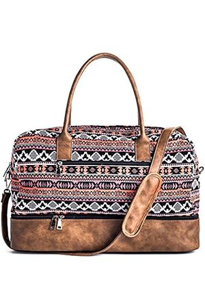 MyMealivos Canvas Weekender Bag Reisetasche mit Schuhbeutel