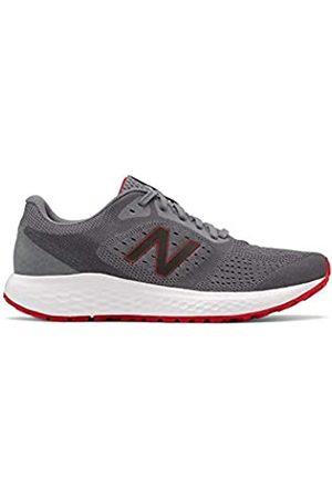 New Balance Men's 520 V6 Steel/Team Red Running Shoe 9 D US