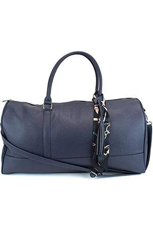 Ms Lovely Damen-Reisetasche aus PU-Leder mit Satin-Innenfutter, 55