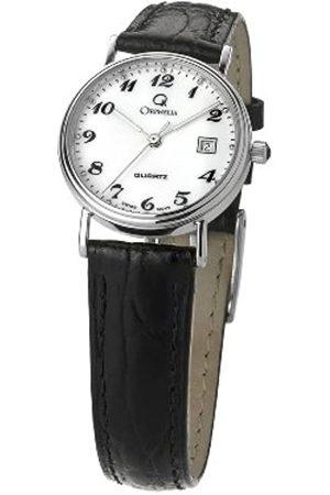 ORPHELIA Damen Armbanduhr Analog Quarz Leder MON-7084