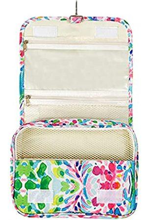 GERINLY Kosmetiktasche mit Wasserfarben-Blumen-Motiv