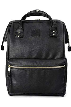 Kah&Kee Leder Rucksack Wickeltasche mit Laptopfach Travel School für Damen (