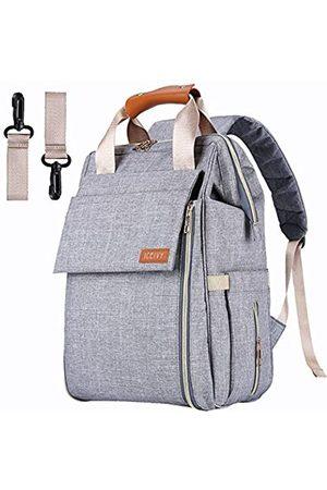 AISPARKY Baby-Wickeltasche, Rucksack, Babytasche, multifunktional, wasserdichte Reise-Wickeltasche für Babypflege, große Kapazität