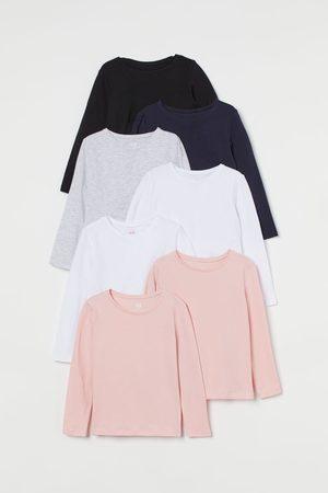 H & M 7er-Pack Langarmshirts